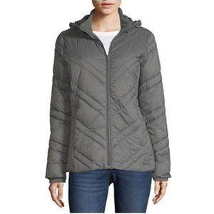 🌟NWOT🌟 Xersion Gray Puffer Coat SMALL
